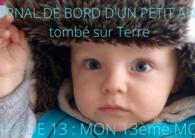 JOURNAL DE BORD D'UN PETIT ANGE tombé sur Terre -13-