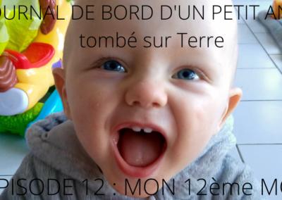JOURNAL DE BORD D'UN PETIT ANGE tombé sur Terre -12-