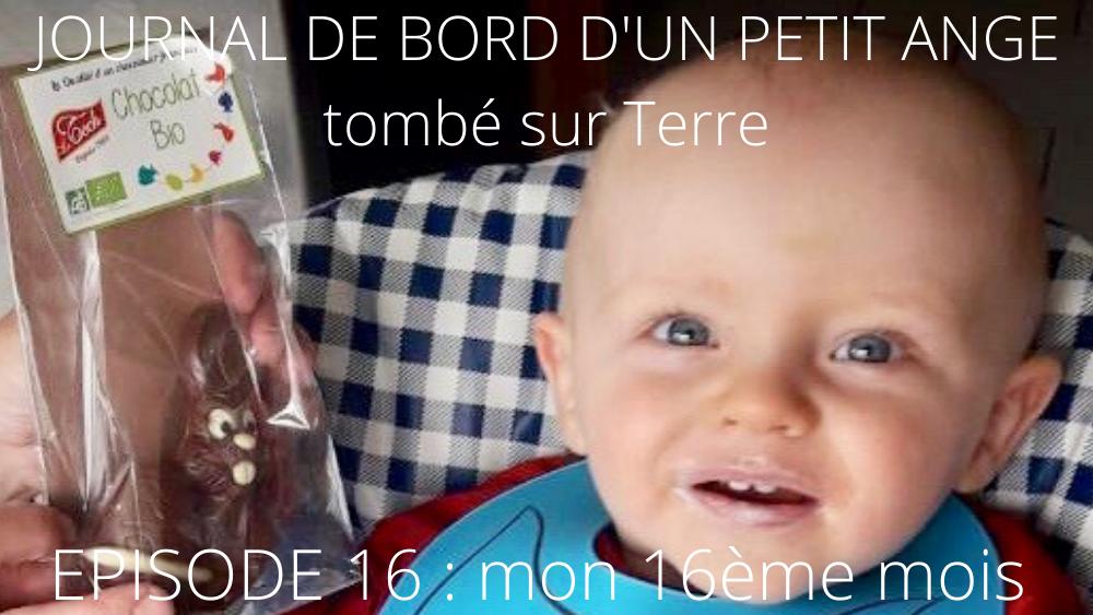 JOURNAL DE BORD D'UN PETIT ANGE tombé sur Terre -16-